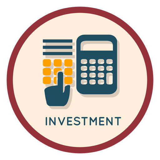 Finance investment icon Transparent PNG