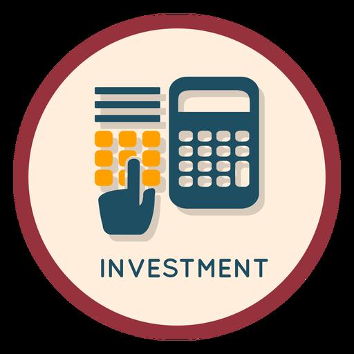 Ícone de investimento financeiro