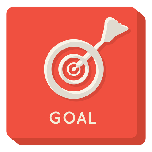 Goal square icon Transparent PNG