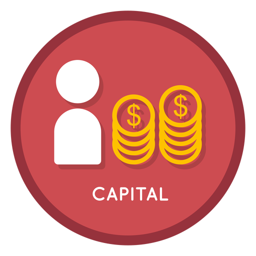 Investment capital icon Transparent PNG