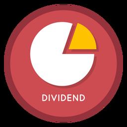 Ícone de dividendo de investimento