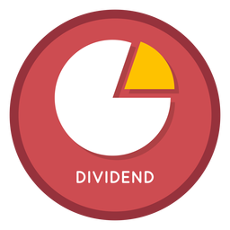 Investment divident icon