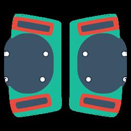 Ícone de joelheiras de patins