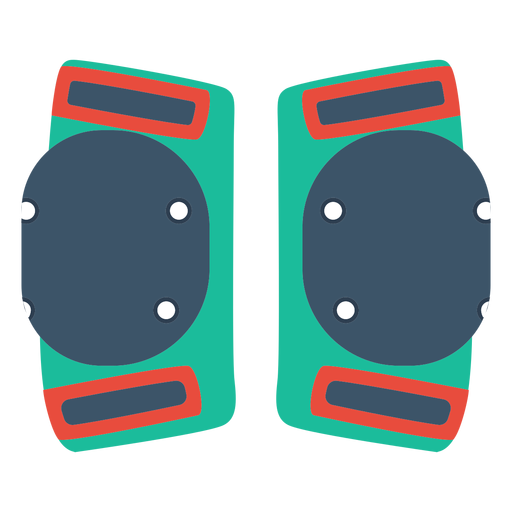 Roller skate knee pads icon Transparent PNG