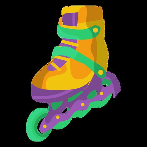 Ilustração de sapato de patins Transparent PNG