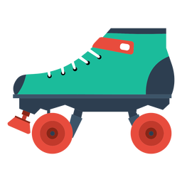 Ícone de patim de patins