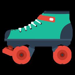 Icono de patinaje sobre ruedas
