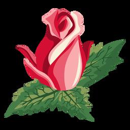 Icono de capullo de rosa