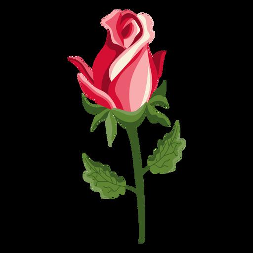 Rose bud stem icon Transparent PNG