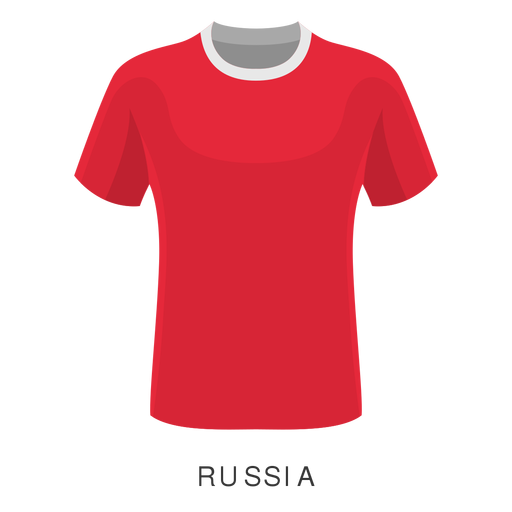 Rusia copa mundial de fútbol camiseta de dibujos animados Transparent PNG