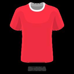 Dibujos animados de camiseta de fútbol de la copa mundial de serbia