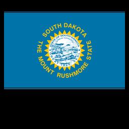 Bandera del estado de dakota del sur