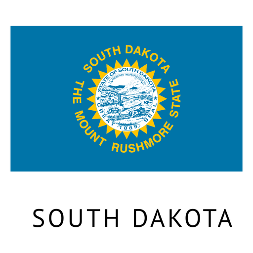 South dakota state flag Transparent PNG