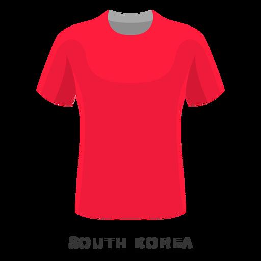 South korea world cup football shirt cartoon Transparent PNG