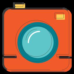 Icono de cámara cuadrada