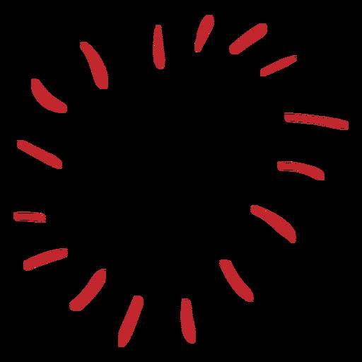 Sunny heart sticker
