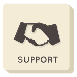 Support square icon