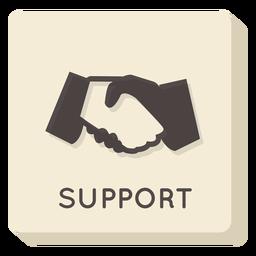 Support square icon