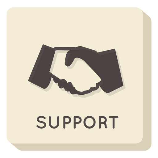 Support square icon Transparent PNG
