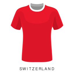 Switzerland world cup football shirt cartoon