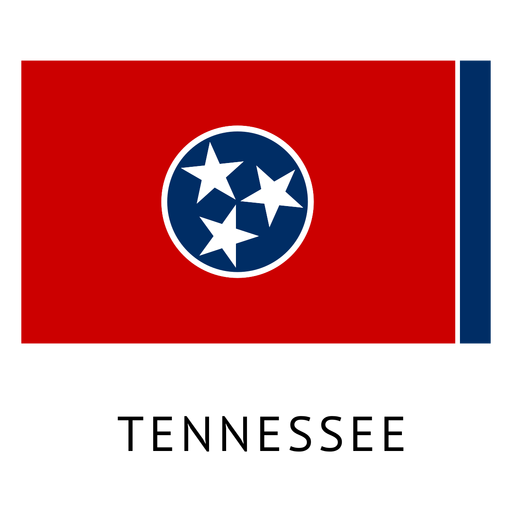Tennessee state flag Transparent PNG