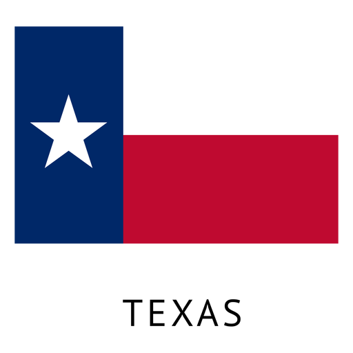 Texas state flag Transparent PNG