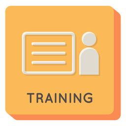 Training square icon