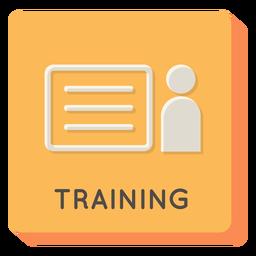 Training square icon