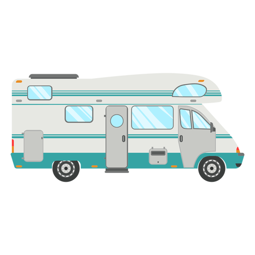 Travel camper vector Transparent PNG