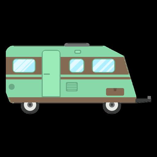 Travel trailer vector Transparent PNG