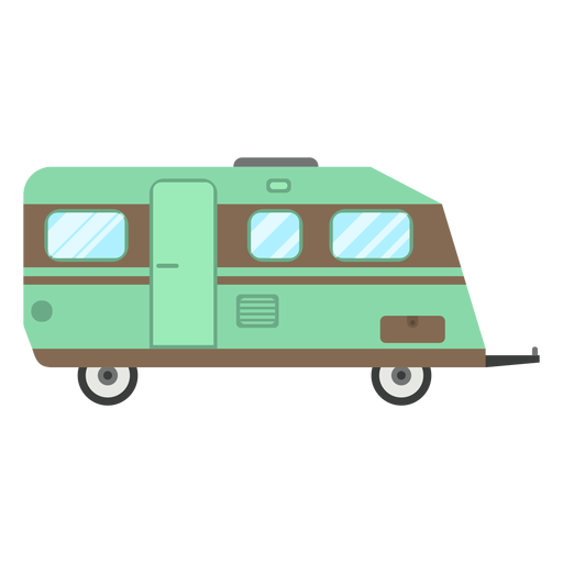 Viajes trailer vector Transparent PNG