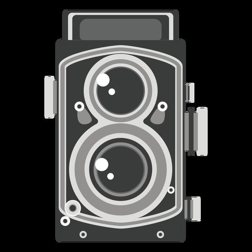 Gráfico de cámara de doble lente Transparent PNG