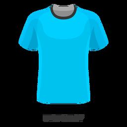 Desenhos animados da camisa de futebol da Copa do Mundo do Uruguai