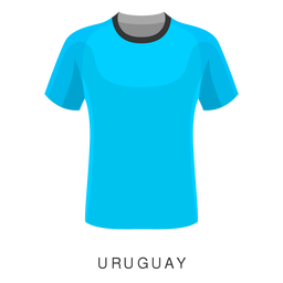 Uruguay world cup football shirt cartoon