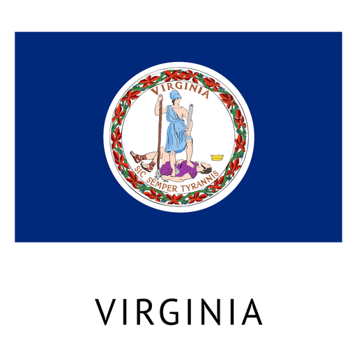 Virginia state flag Transparent PNG