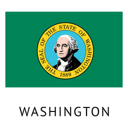 Bandeira do estado de washington