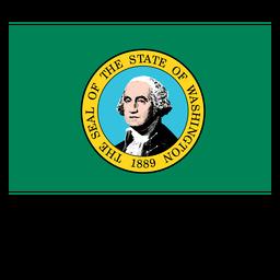 Washington Staatsflagge