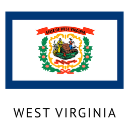Bandera del estado de virginia occidental