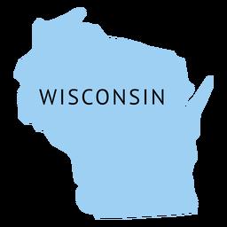 Karte von Wisconsin State