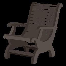 Cadeira de madeira Adirondack