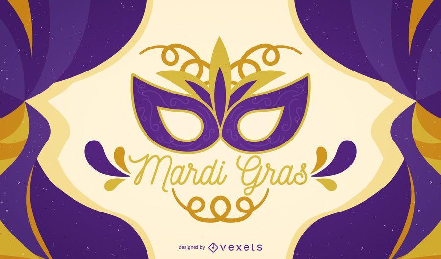Cartel del carnaval del carnaval.