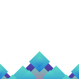 Fundo abstrato azul rhomb