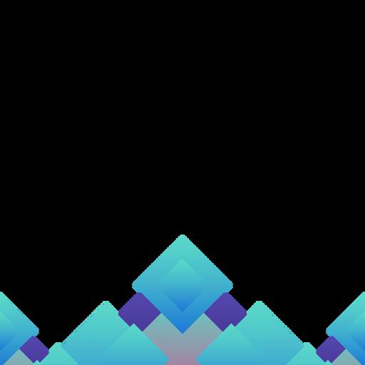 Fondo abstracto rombo azul