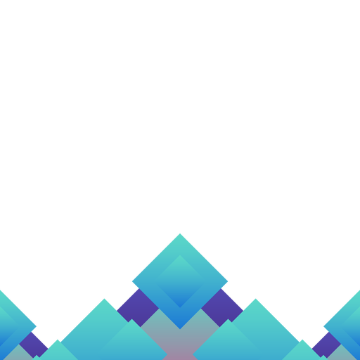 Fundo abstrato azul rhomb Transparent PNG