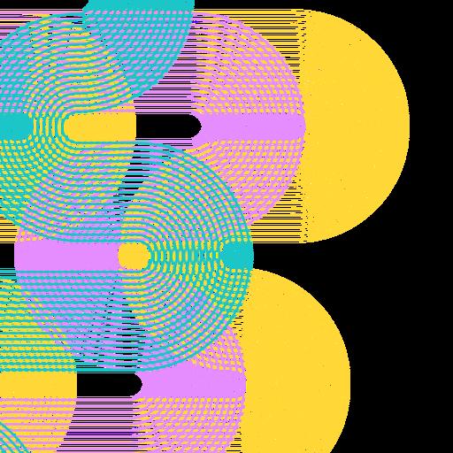 Fundo de linhas abstratas Transparent PNG