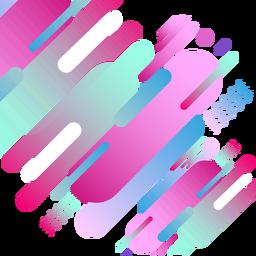 Fondo geomteric rosado abstracto