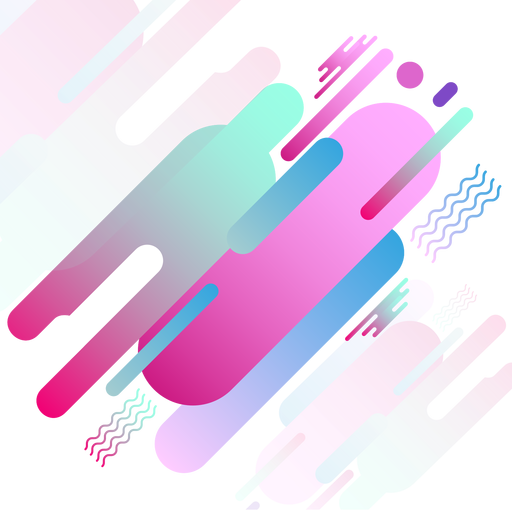 Abstract pink geomteric background Transparent PNG