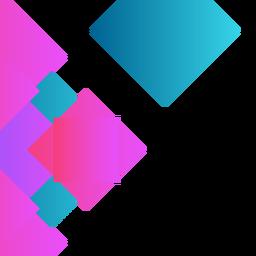 Fondo cuadrado púrpura abstracto