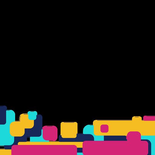 Retângulo abstrato Transparent PNG