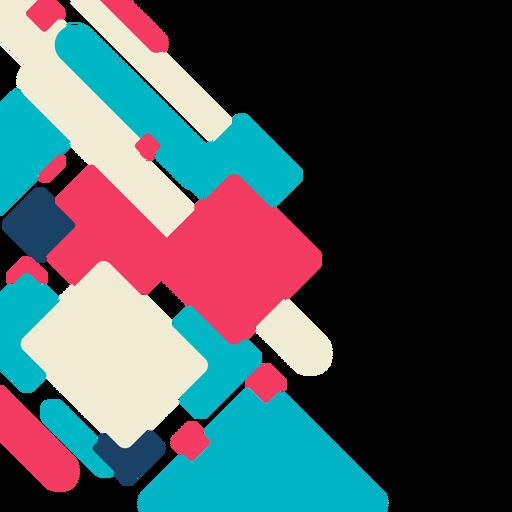 Vector de fondo abstracto rectángulo Transparent PNG